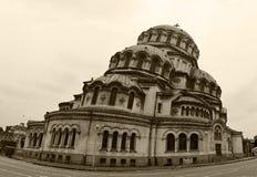 De kathedraal van heilige Alexandar Nevski royalty-vrije stock fotografie