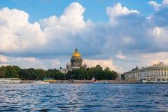De Kathedraal van heilige Isaac, Heilige Petersburg Royalty-vrije Stock Afbeelding