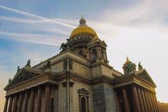 De Kathedraal van heilige Isaac `s royalty-vrije stock foto