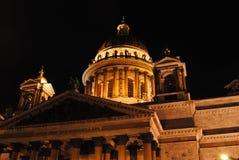 De Kathedraal van heilige Isaac \ 's Royalty-vrije Stock Afbeeldingen
