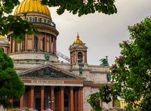 De Kathedraal van heilige Isaac `s Rusland, heilige-Petersburg Royalty-vrije Stock Foto's