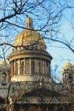 De kathedraal van heilige Isaac in St. Petersburg Royalty-vrije Stock Afbeeldingen