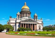 De Kathedraal van heilige Isaac in St Petersburg royalty-vrije stock foto