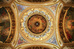 De Kathedraal van heilige Isaak. stock afbeeldingen