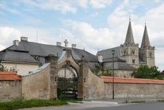 De Kathedraal van heilige Martin in Spisska Kapitula, Slowakije royalty-vrije stock afbeeldingen