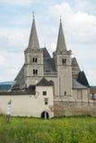 De Kathedraal van heilige Martin in Spisska Kapitula, Slowakije Royalty-vrije Stock Afbeelding