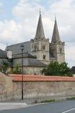 De Kathedraal van heilige Martin in Spisska Kapitula, Slowakije stock foto's