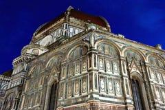 De Kathedraal van Heilige Mary van de Bloem, Florence, Italië Stock Fotografie