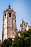 De Kathedraal van heilige Mary, Valencia - Spanje Stock Afbeelding
