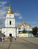 De Kathedraal van heilige Michaels met klokketoren Royalty-vrije Stock Fotografie