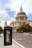 De Kathedraal van heilige Paul. Londen, het UK Stock Foto