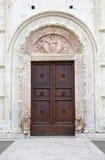 De Kathedraal van Heilige Rufino, Assisi, Italië Royalty-vrije Stock Foto's