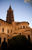 De kathedraal van heilige Sernin Royalty-vrije Stock Afbeelding