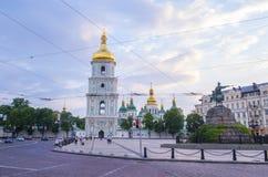 De Kathedraal van heilige Sophia ` s, Kiev Royalty-vrije Stock Afbeeldingen