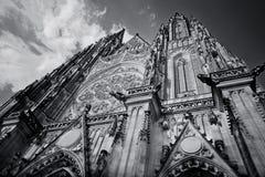 De Kathedraal van heilige Vitus Royalty-vrije Stock Foto's