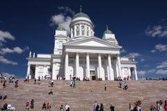 De kathedraal van Helsinki stock foto's