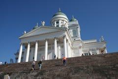 De kathedraal van Helsinki Stock Foto