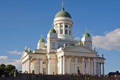 De kathedraal van Helsinki stock fotografie