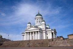 De Kathedraal van Helsinky Royalty-vrije Stock Afbeeldingen