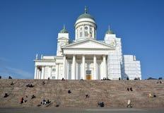 De Kathedraal van Helsinky Stock Foto's