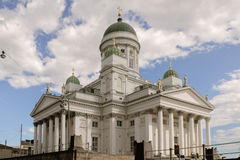 De Kathedraal van Helsinky Stock Foto