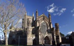 De Kathedraal van Hereford Royalty-vrije Stock Foto's