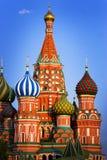 De Kathedraal van het basilicum in Moskou Royalty-vrije Stock Afbeelding