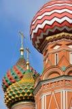De Kathedraal van het Basilicum van heilige, Moskou royalty-vrije stock afbeelding