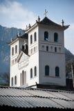 De Kathedraal van het Dorp van Zhongding Stock Afbeeldingen