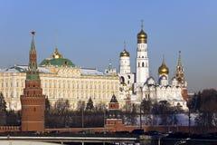 De Kathedraal van het Kremlin en van de Slaapzaal royalty-vrije stock fotografie