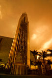 De Kathedraal van het kristal Stock Afbeeldingen
