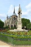 De kathedraal van het Notre Dame de Paris Stock Fotografie