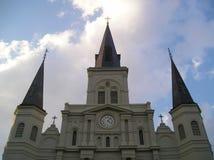 De Kathedraal van het Saint Louis Stock Fotografie