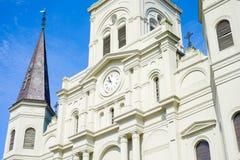 De Kathedraal van het Saint Louis Royalty-vrije Stock Afbeelding