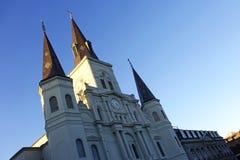 De Kathedraal van het Saint Louis Royalty-vrije Stock Afbeeldingen