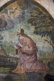 De Kathedraal van het Saint Pierre, Poitiers, Frankrijk royalty-vrije stock afbeelding