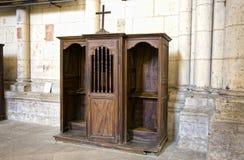 De Kathedraal van het Saint Pierre, Poitiers, Frankrijk Stock Afbeeldingen