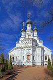 De Kathedraal van het Vladimir-pictogram van de Moeder van God in Krons Royalty-vrije Stock Fotografie