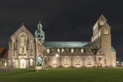 De Kathedraal van Hildesheim Stock Afbeeldingen
