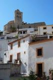 De kathedraal van Ibiza Royalty-vrije Stock Afbeelding