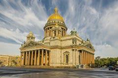De Kathedraal van Isaacs Stock Foto