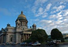 De kathedraal van Isaak stock fotografie