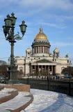 De kathedraal van Isaakievsky royalty-vrije stock foto's