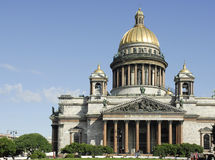 De Kathedraal van Isaakievsky in heilige-Petersbourg, Rusland Royalty-vrije Stock Foto's