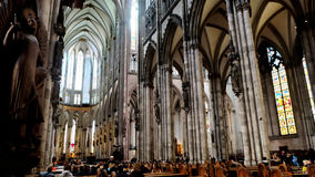 De Kathedraal van Keulen Stock Foto's