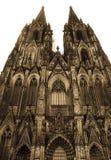De kathedraal van Keulen, Duitsland Royalty-vrije Stock Foto's
