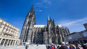 De Kathedraal van Keulen, Duitsland, redactie Royalty-vrije Stock Foto
