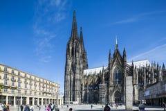 De Kathedraal van Keulen, Duitsland, redactie Stock Fotografie