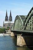 De Kathedraal van Keulen in Keulen Stock Fotografie