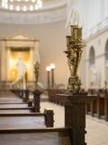De Kathedraal van Kopenhagen Stock Afbeeldingen